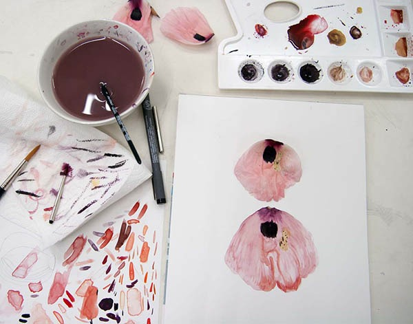 Botanical Drawing and Watercolor Supply List