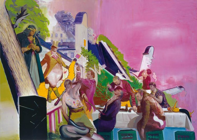 Neo Rauch and his discordant color world