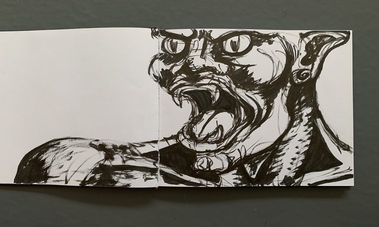 Drawing Monsters: an exploration of the shadow